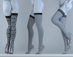 stockings 3D