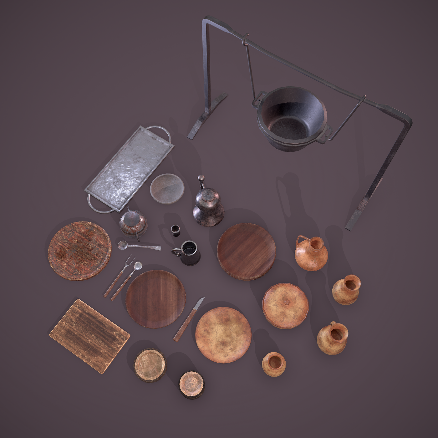 Medieval Dishes Pack
