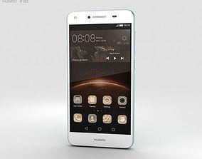 Huawei Y5II Sky Blue 3D model