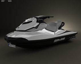 3D BRP Sea-Doo GTI SE 130 155 2012