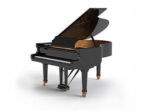 Generic Grand Piano 3D model