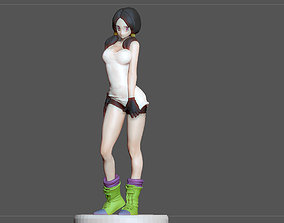 VIDEL DRAGONBALL CHARACTER ANIME STATUE MODEL GIRL