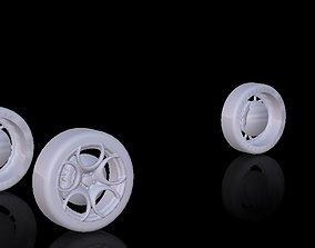 Car tire Wheels For Car Design 3D model