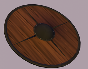 Stylized Shield 3D