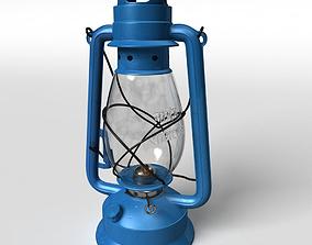 High Details Hurricane Oil Lamp 3D model