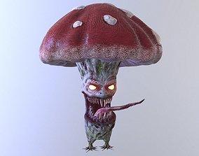 3D model Evil Mushroom With a Smile
