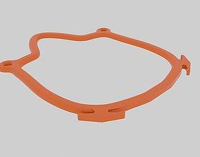 3D printable model Medium mask rim COVID-19