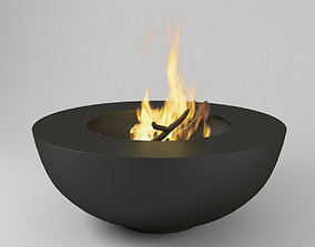 3D model Fire Pot Bonfire
