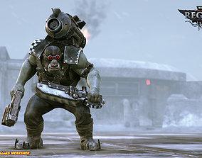 Ork reaper Warhammer 40k 3D print model