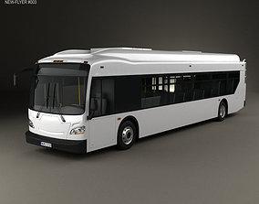 New Flyer Xcelsior Bus 2016 3D