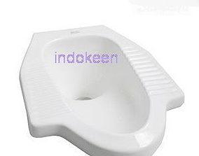 Eastern Toilet indokeen 3D asset