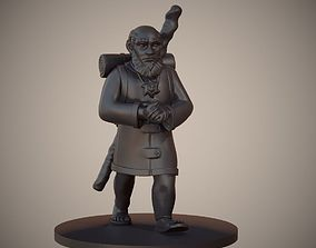 3D printable model Gnome Priest or Cleric Miniature