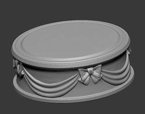 Decorative stand 3D model
