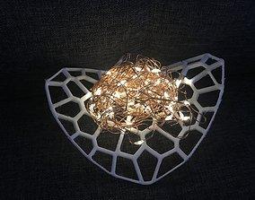 3D printable model Voronoi Light Pad