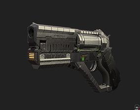 3D model Revolver-Pistol Hybrid