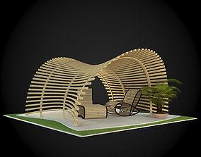 3D design garden Pergola