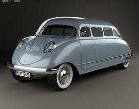 3D model Stout Scarab 1936 mpv