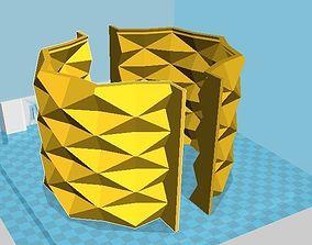 diamond pot mold 3D