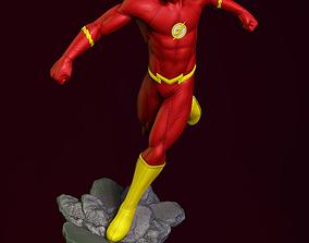 Flash fan art - 3D print