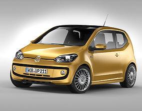 3D model Volkswagen Up 2011 - 2016