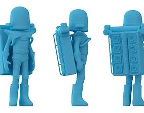 Astroneer game character 3D print model miniatures