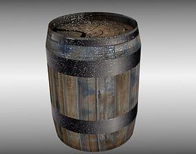 3D model Medieval Barrel