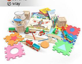 Toy Set 3D sports