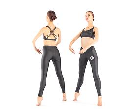 Ballet dancer 30 3D asset