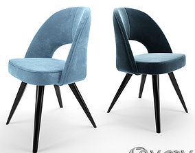 Modrest Gloria Swivel Dining Chair 3D model
