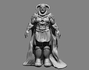 Skull of The Dead 3D printable model