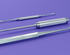 Surgical Elevators 3D model