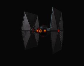 Black Tie Fighter 3D model