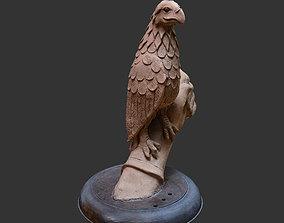 pigeon 3D Eagle sculpture