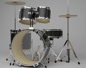 3D Drum kit set
