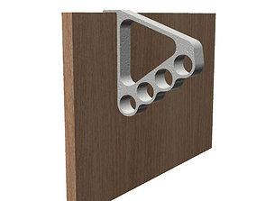3D print model Cupboard Door Hanger Hook