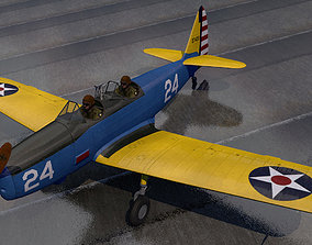 Fairchild PT-19 Cornell american 3D
