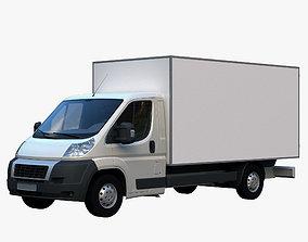 L4H1 truck isothermal van 3D