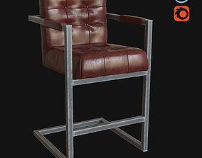 3D Bar stool Jenson MHLIVING