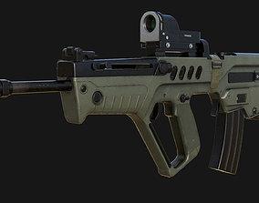 IWI Tavor TAR-21 3D asset