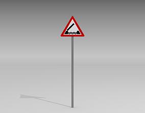 Mobile bridge sign 3D