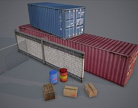 game-ready Cargo asset