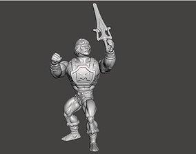 3D print model He Man Power Punch Motu Style Vintage 1
