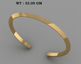 North Skull Copy solid bracelet for men 3D printable model