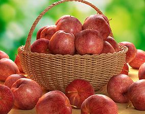 3D Apples fresh