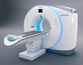 CT Scanner Siemens Somatom Force 3D model
