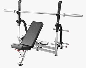 3D model INCLINE BENCH PRESS by nautilus