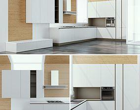 3D model Kitchen Cucine Stosa Infinity Diagonal D3