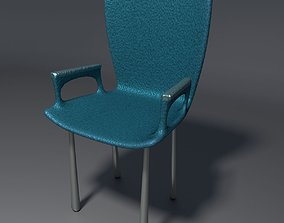 3D model Plastic Chair - 3 - b