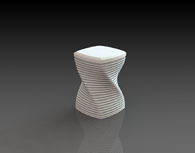 Modern Mini Table 3D Printed