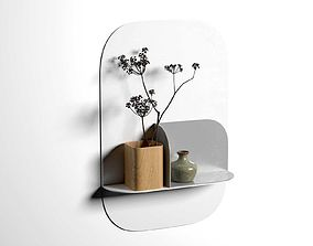 3D model Okewa Shelf and Awha Bookends